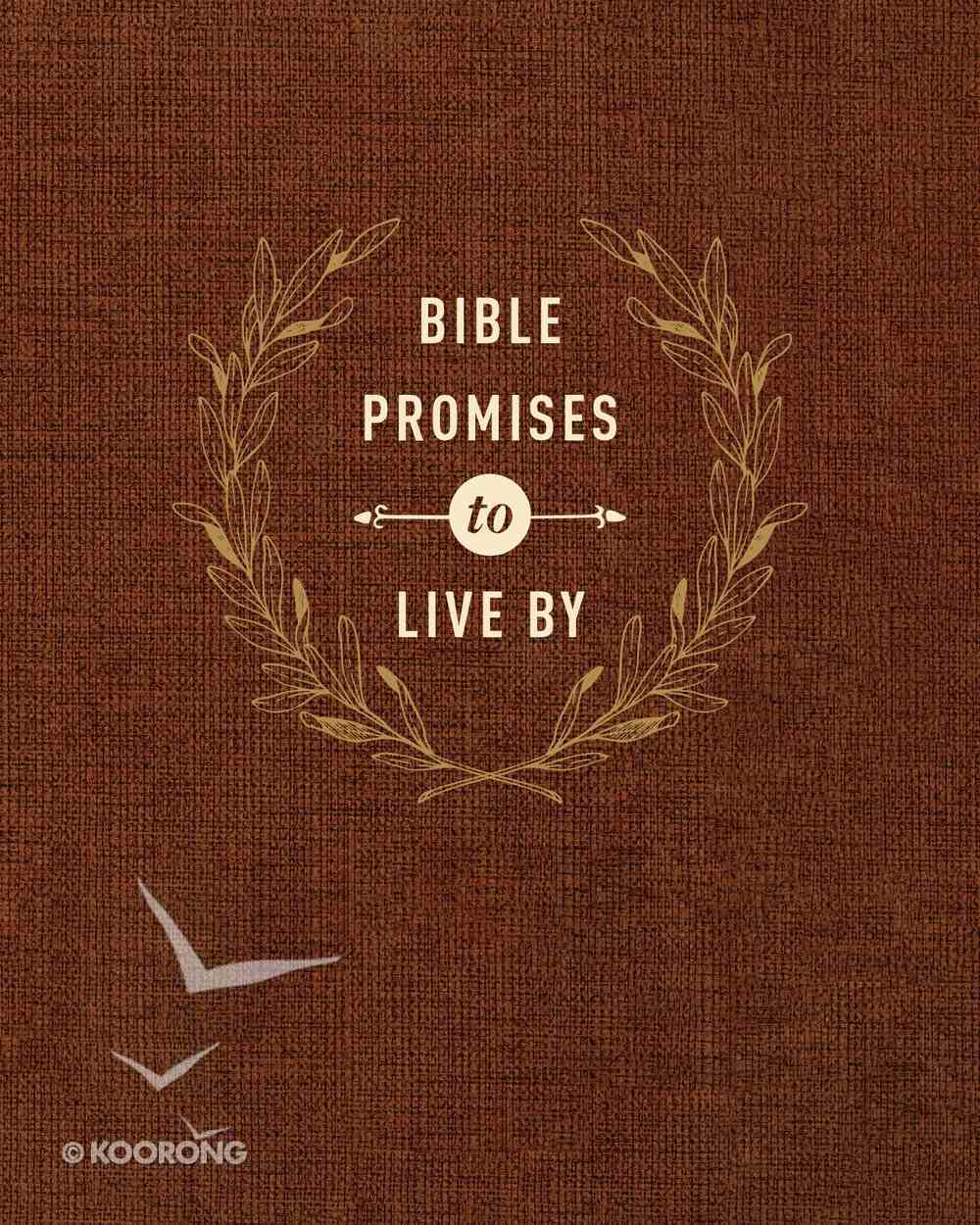 Bible Promises to Live By Imitation Leather