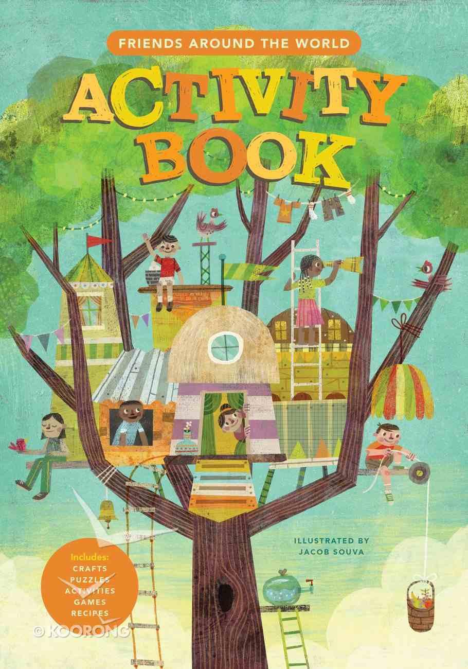Friends Around the World Activity Book Spiral