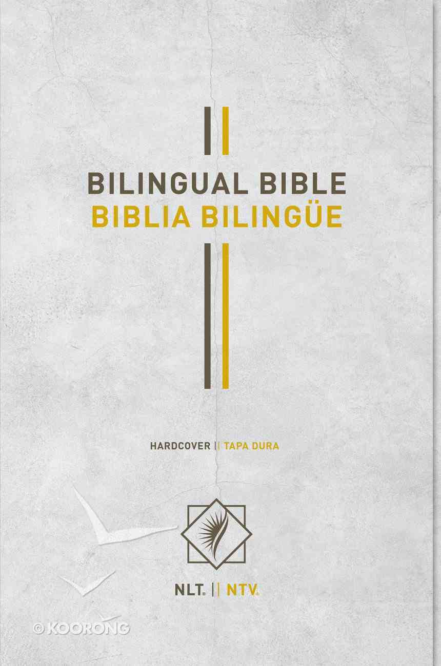 Nlt/Ntv Bilingual Bible/ Biblia Bilingue (Black Letter Edition) Hardback