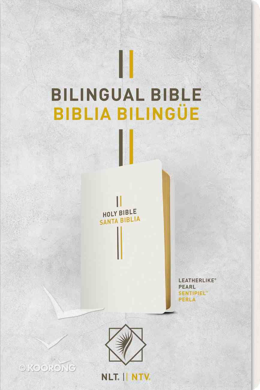 Nlt/Ntv Bilingual Bible/ Biblia Bilingue Pearl (Black Letter Edition) Imitation Leather