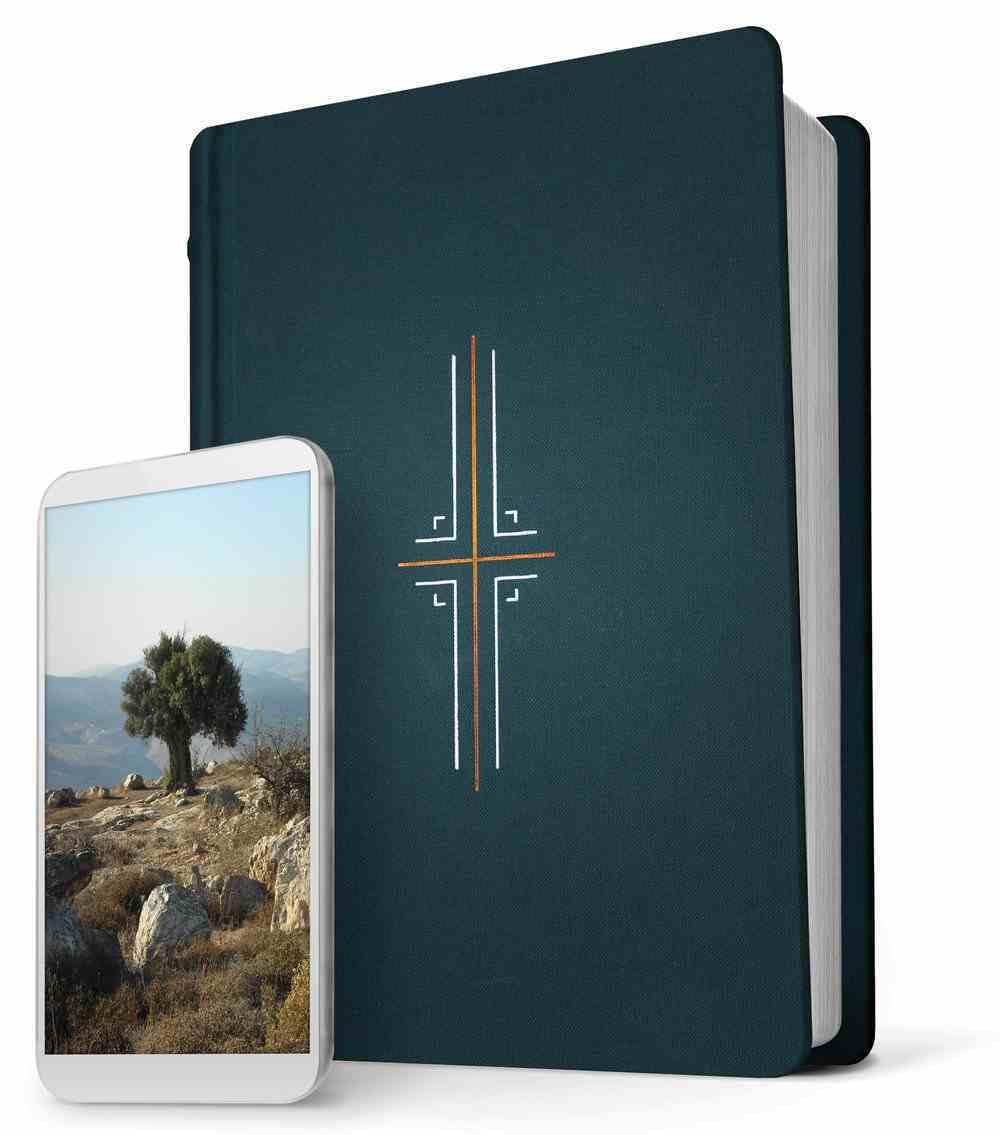 NLT Filament Bible Midnight Blue (Black Letter Edition) (The Print+digital Bible) Hardback