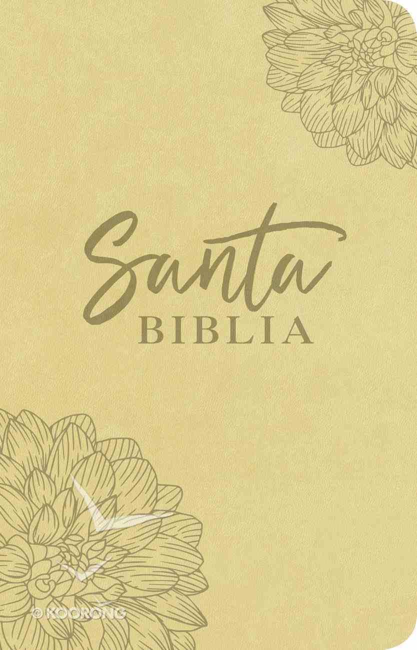 Ntv Santa Biblia Edicion Agape Flor (Black Letter Edition) Imitation Leather