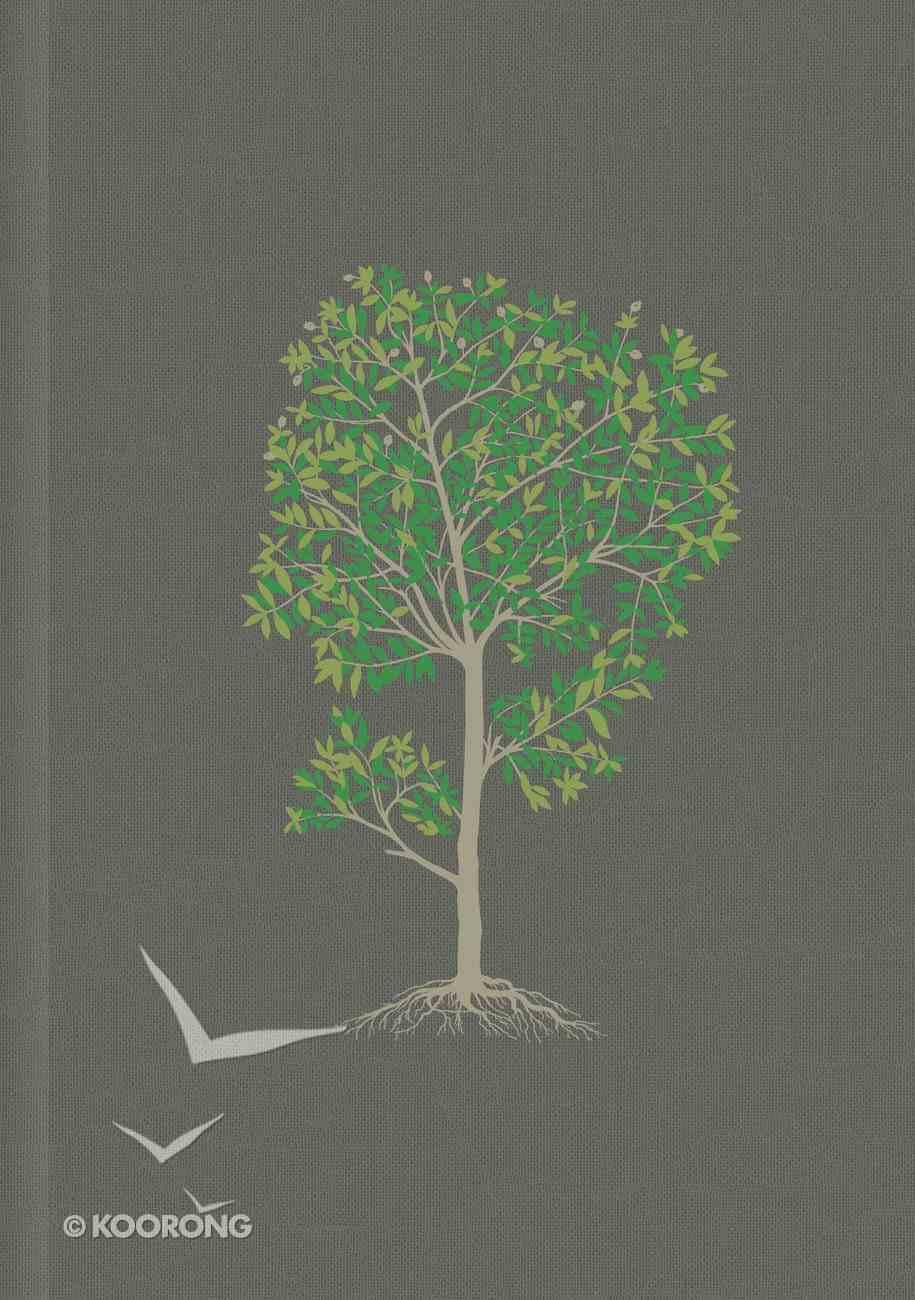 Ntv Biblia De Estudio Del Diario Vivir Indexed Gray (Red Letter Edition) Hardback