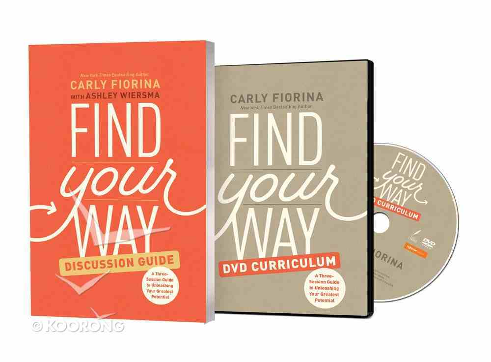 Find Your Way (Discussion Guide With Dvd) Pack