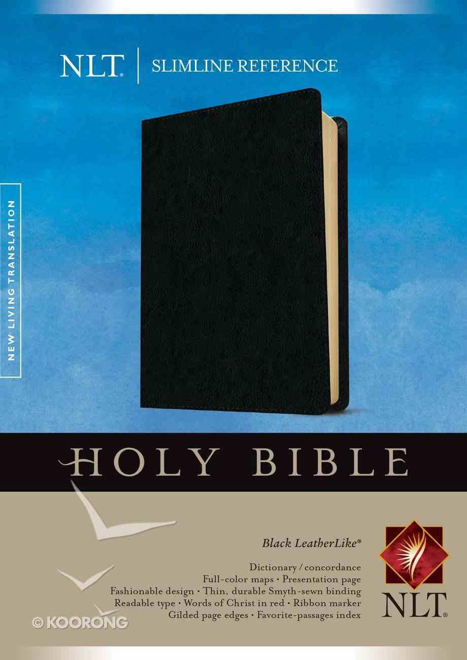 NLT Slimline Reference Bible (Red Letter Edition) Imitation Leather