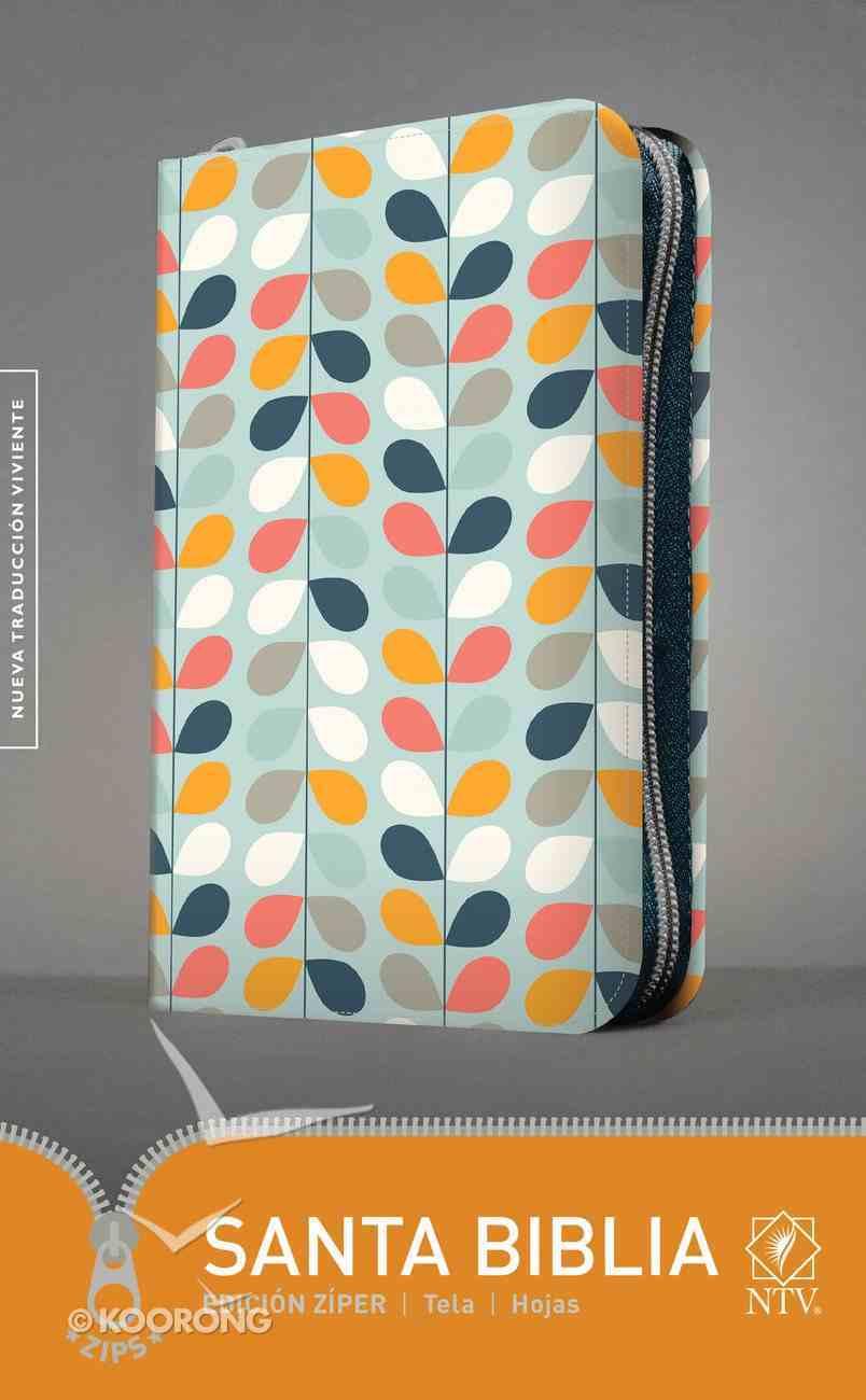 Ntv Santa Biblia Edicion Ziper Hojas (Black Letter Edition) Fabric