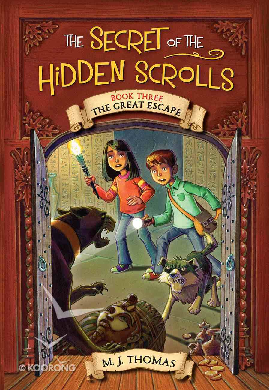 The Great Escape (#03 in The Secret Of The Hidden Scrolls Series) Paperback