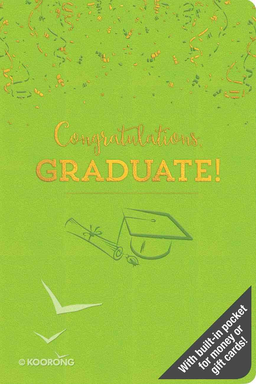 Congratulations Graduate! Imitation Leather