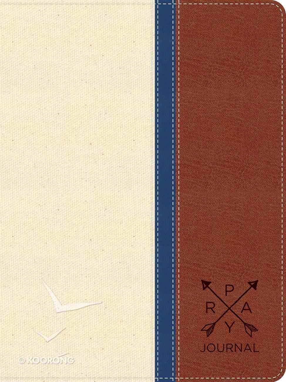 Leatherluxe Journal: Prayer Warrior Imitation Leather