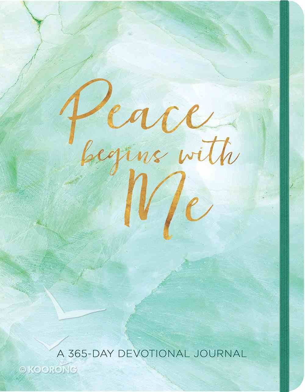 Peace Begins With Me Journal: A 365-Day Devotional Journal Paperback