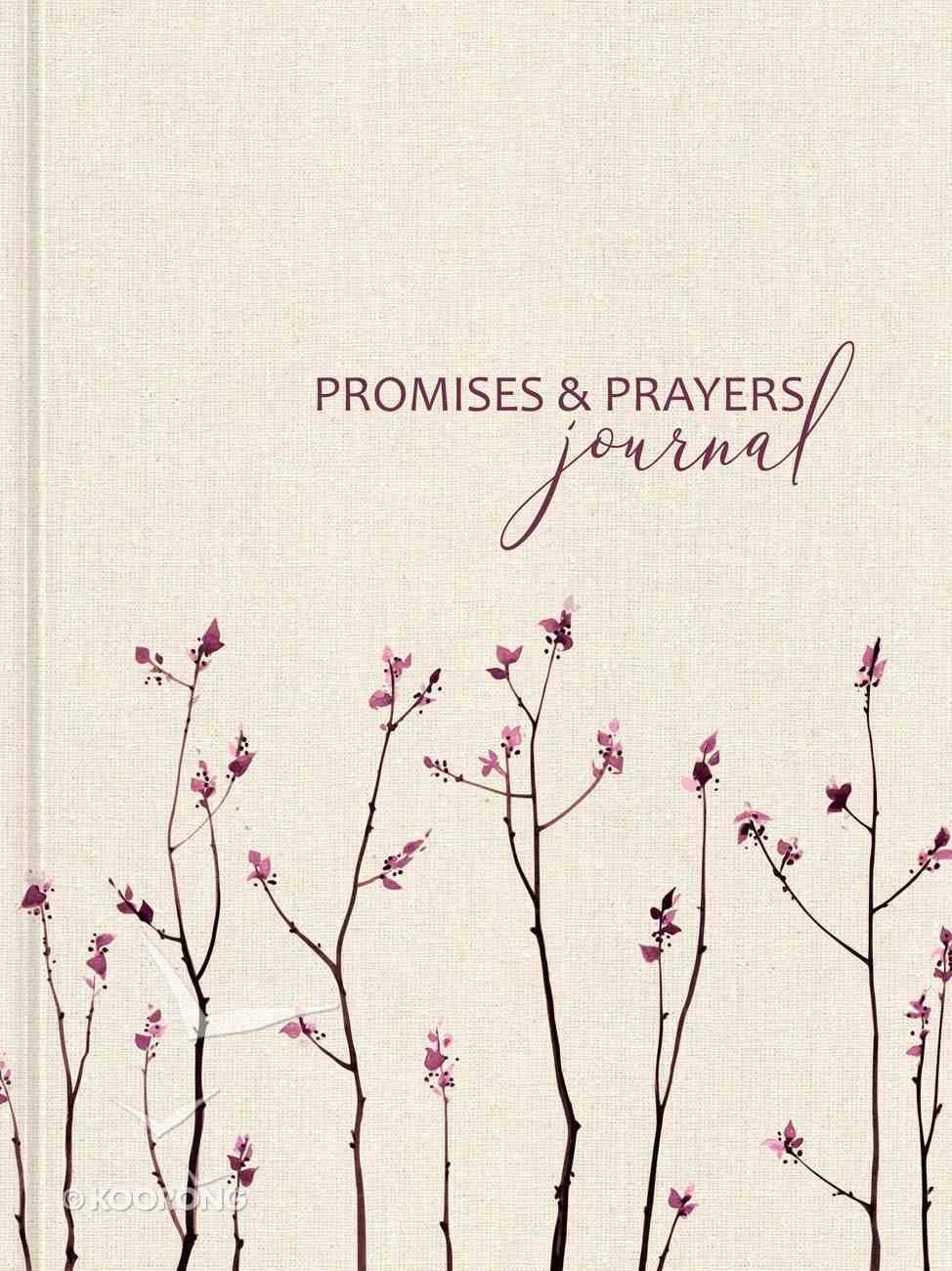 Signature Journal: Promises and Prayers Hardback
