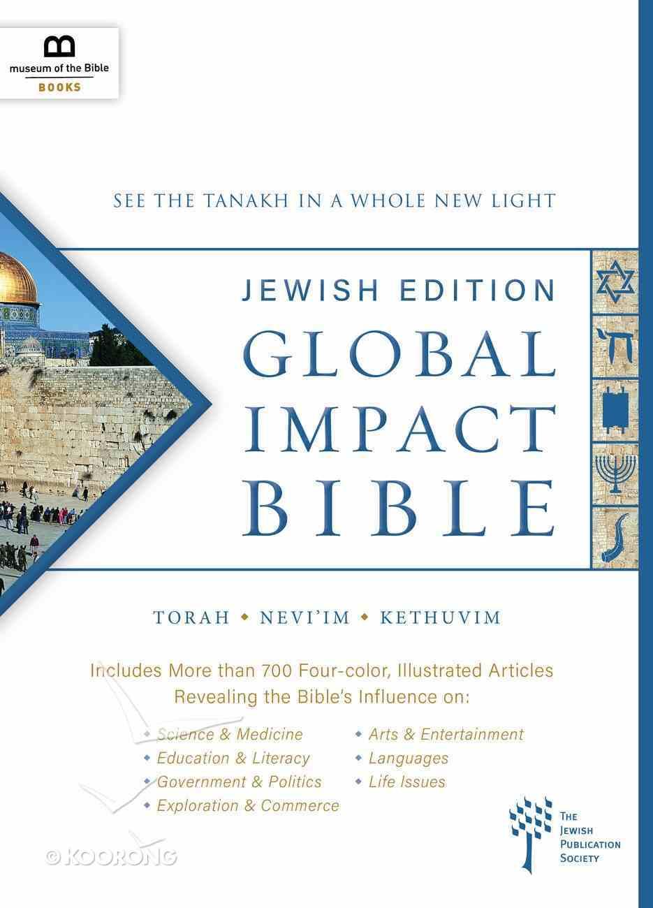 Global Impact Bible Jewish Edition Hardback