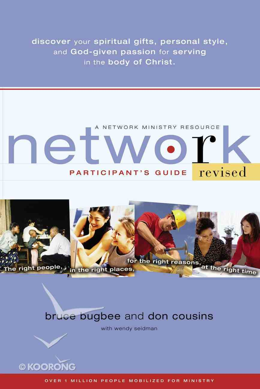 Network Participant's Guide (Network Ministry Resources Series) Paperback