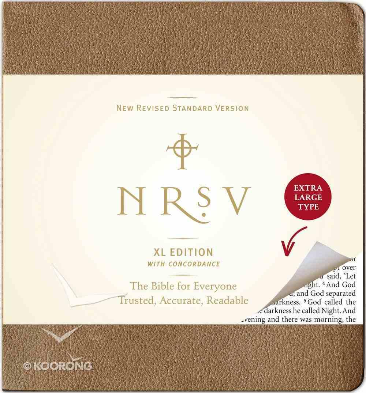 NRSV Extra Large Brown Hardback