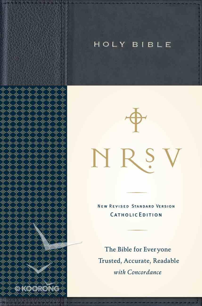 NRSV Standard Catholic Anglicized Navy Blue Hardback