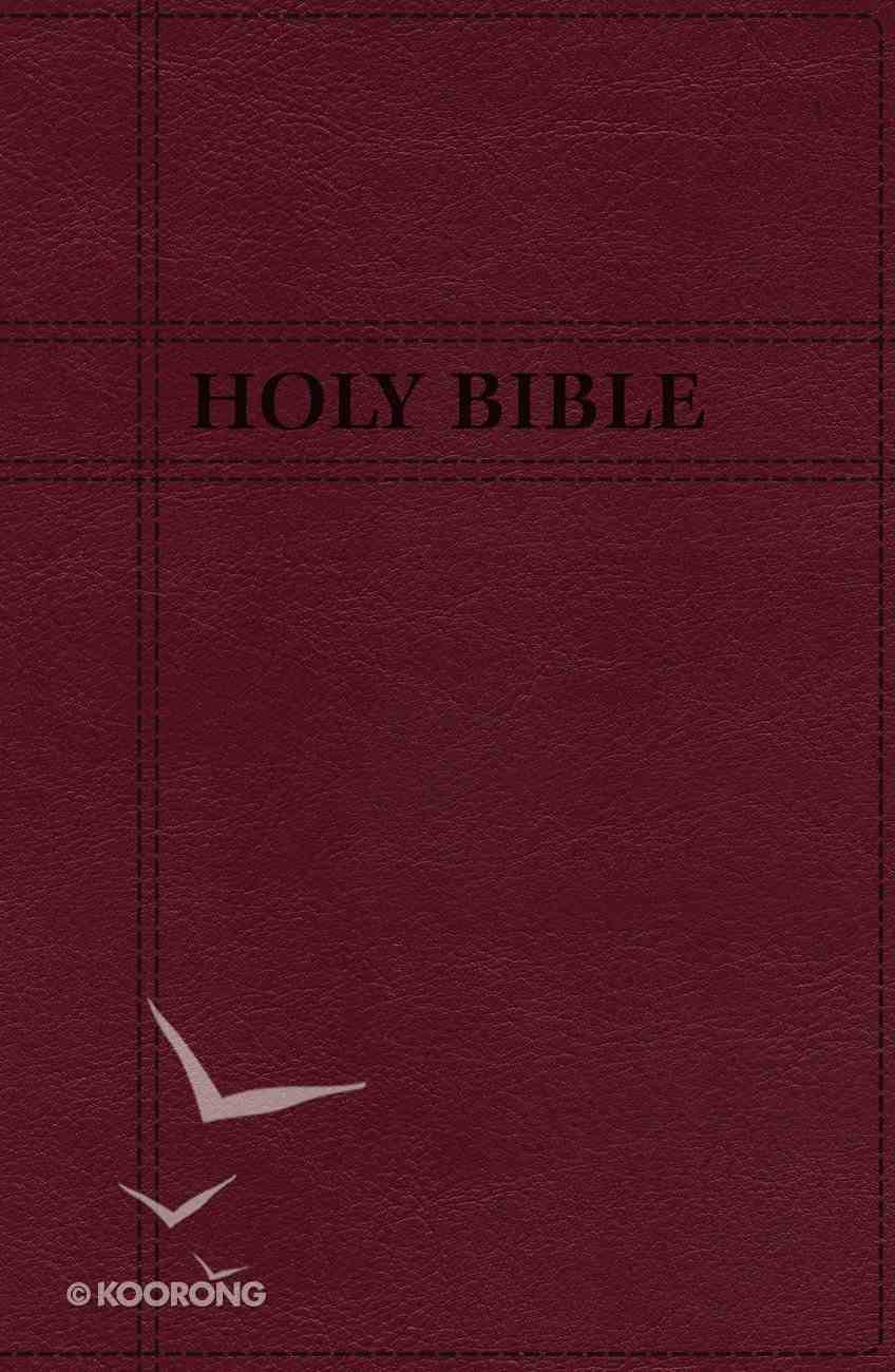 NIV Premium Gift Bible Burgundy Indexed (Red Letter Edition) Premium Imitation Leather