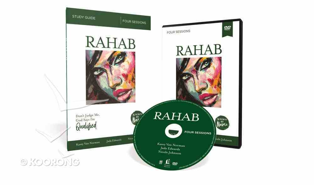 Rahab : Don't Judge Me; God Says I'm Qualified (DVD & Study Guide) (Known By Name Series) Pack