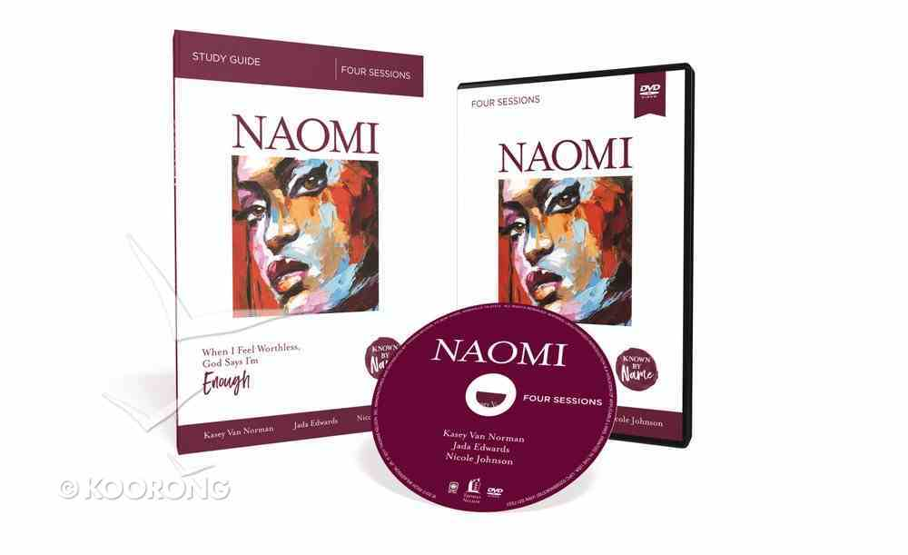 Naomi : When I Feel Worthless, God Says I'm Enough (DVD & Study Guide) (Known By Name Series) Pack