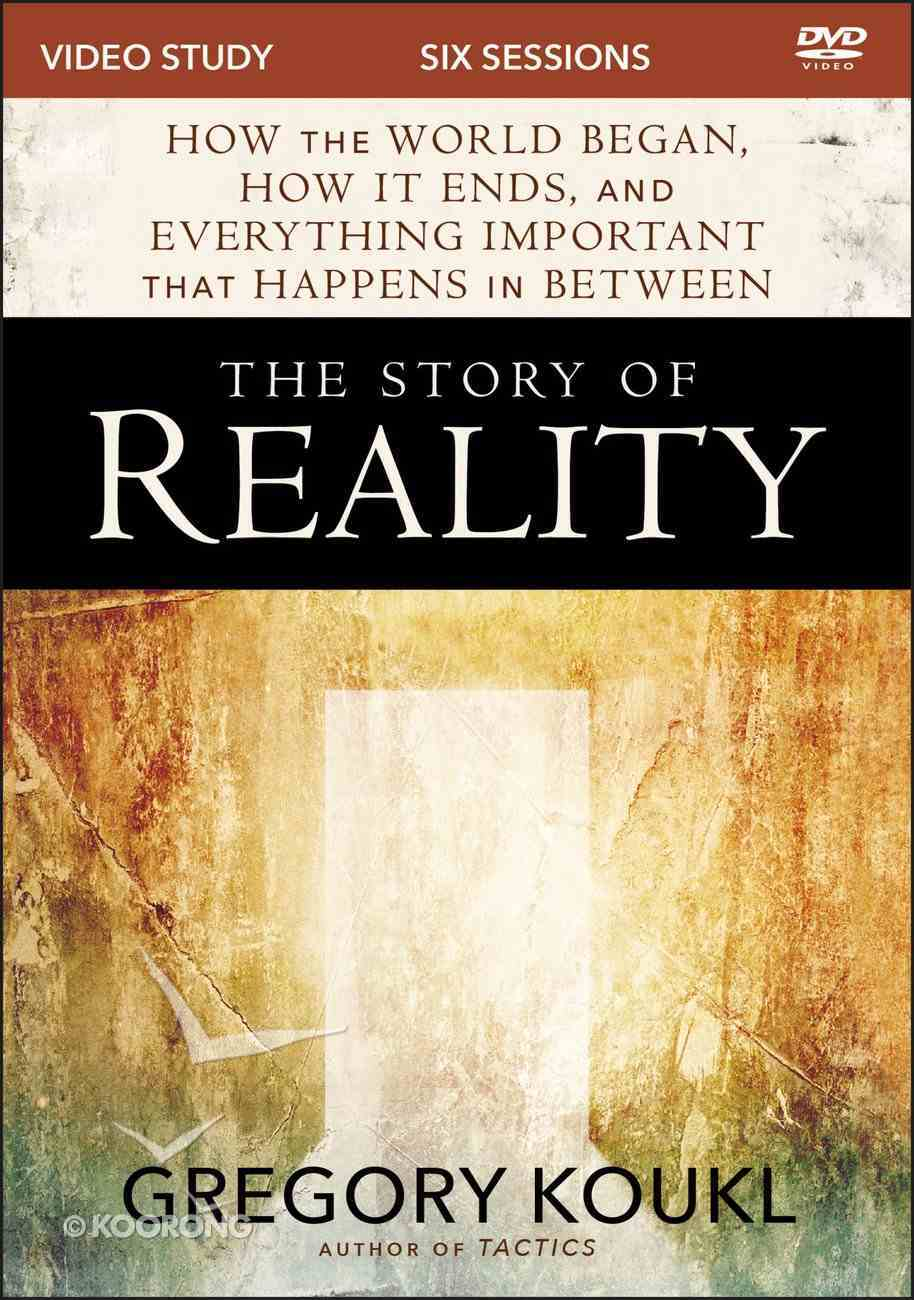 The Story of Reality: How the World Began, How It Ends, and Everything Important That Happens in Between (Video Study) DVD