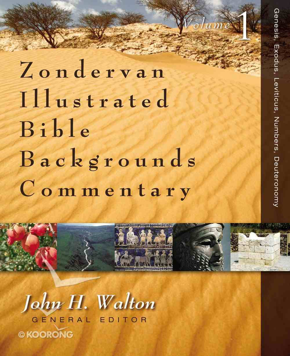 Genesis, Exodus, Leviticus, Numbers, Deuteronomy (Zondervan Illustrated Bible Backgrounds Commentary Series) Hardback