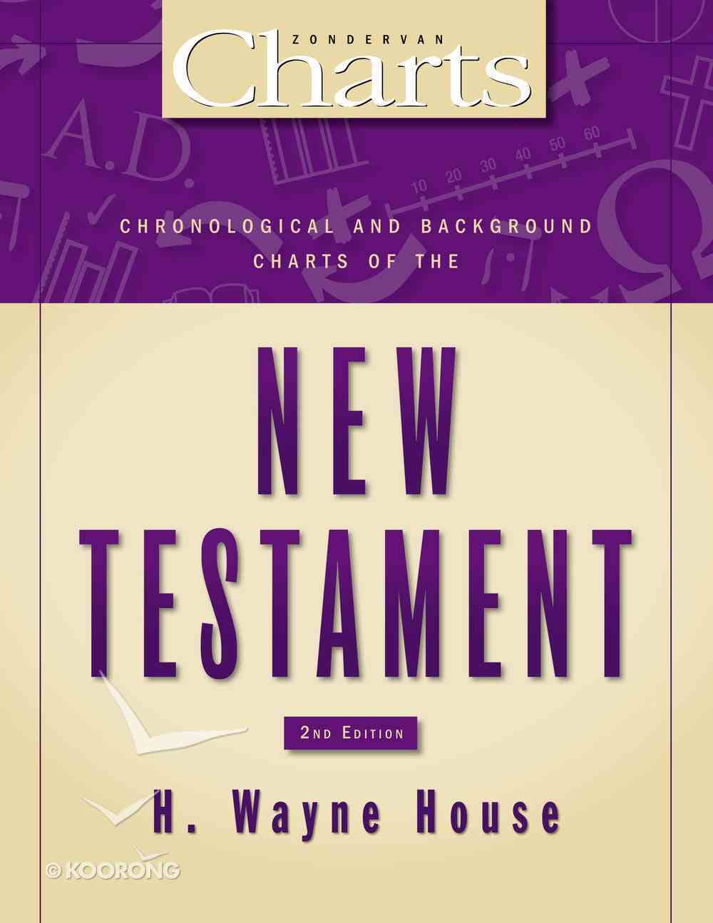 Chronological and Background Charts of the New Testament (Zondervan Charts Series) Paperback