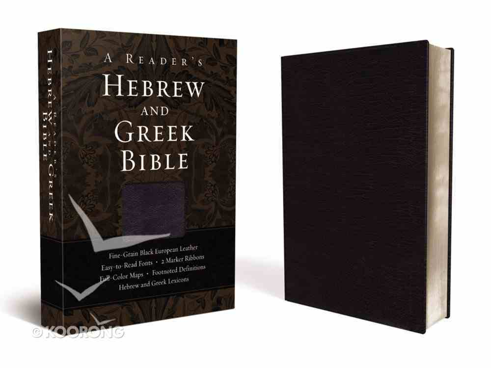 A Reader's Hebrew and Greek Bible Genuine Leather