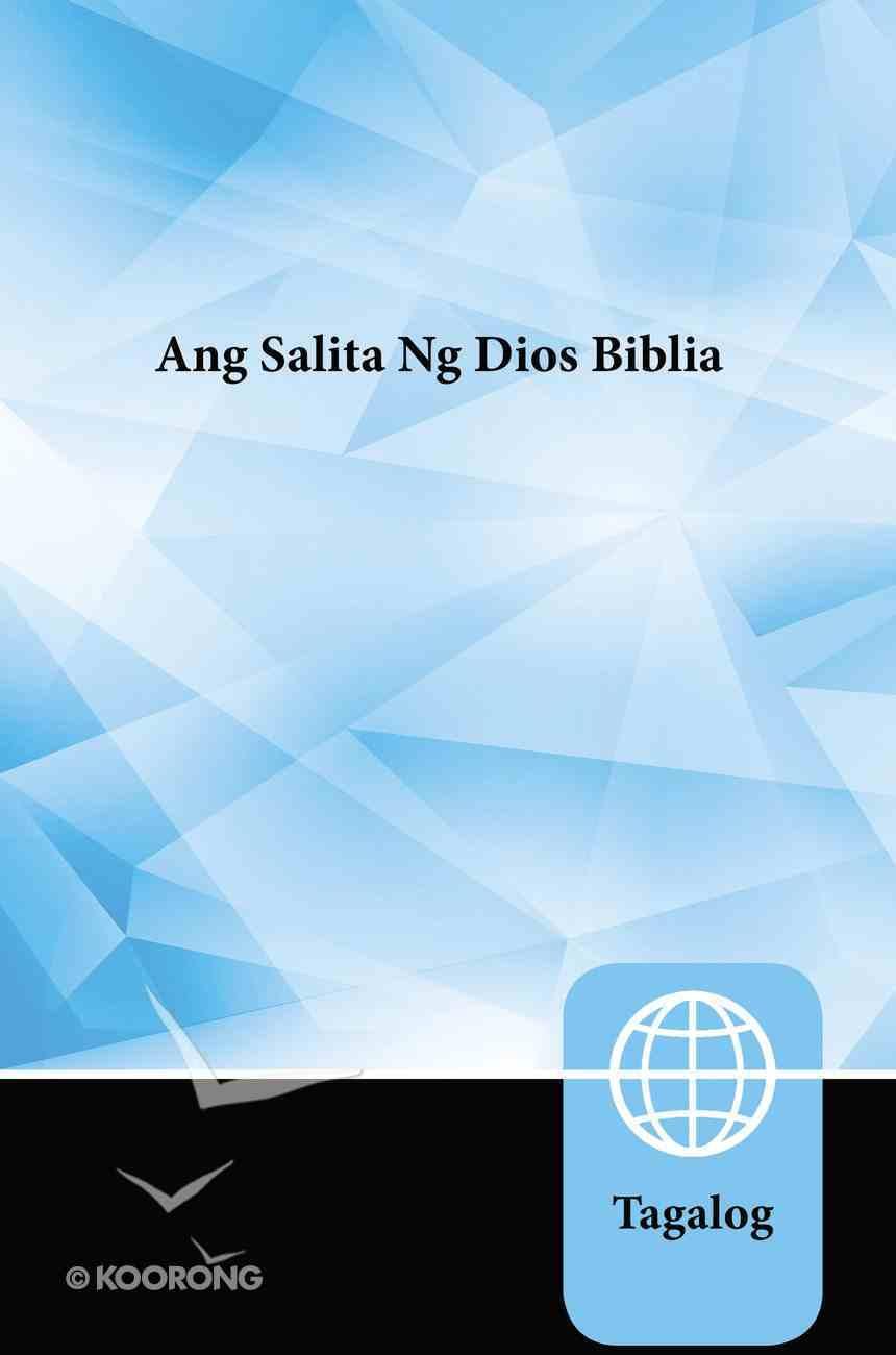 Ang Salita Ng Dios Tagalog Bible (Black Letter Edition) Paperback