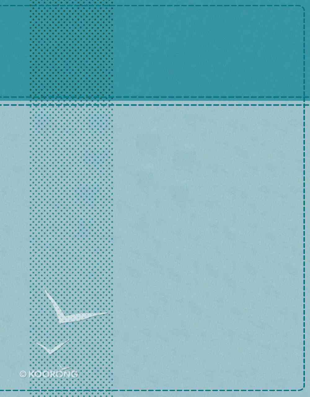 NIV Starting Place Study Bible Indexed Blue Premium Imitation Leather