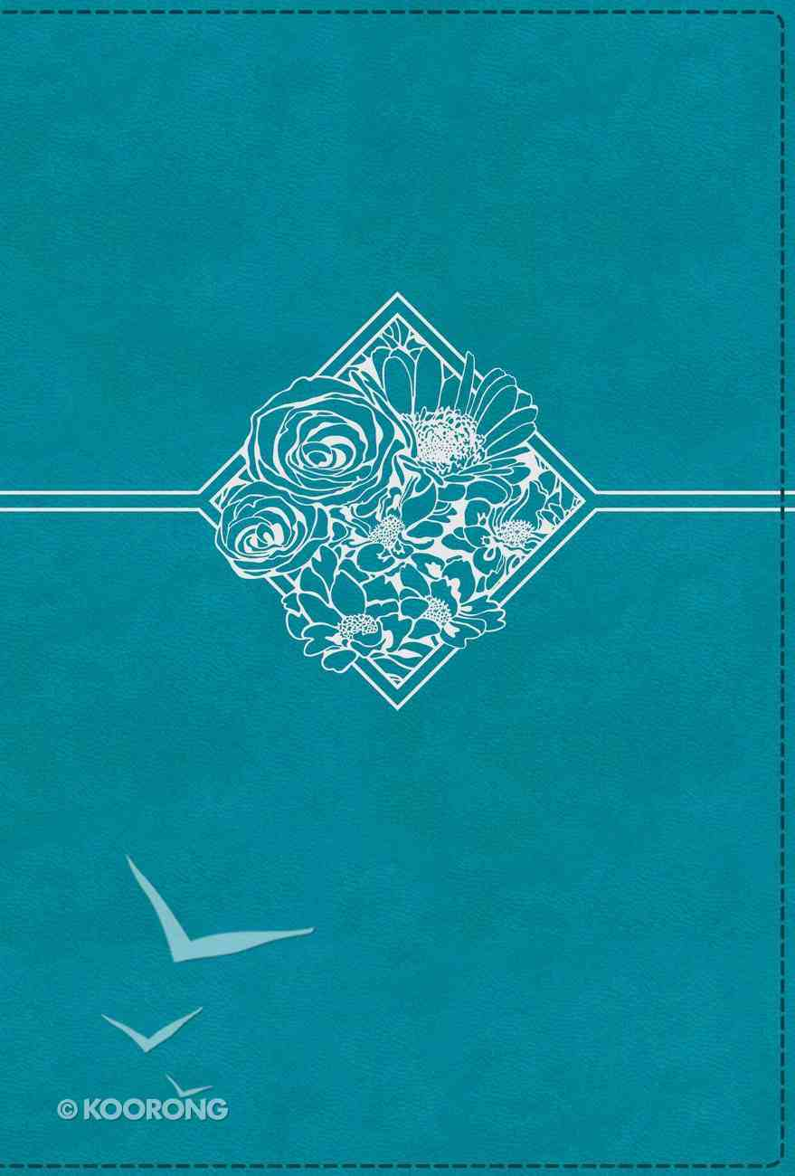 NIV Quest Study Bible Teal Indexed Premium Imitation Leather