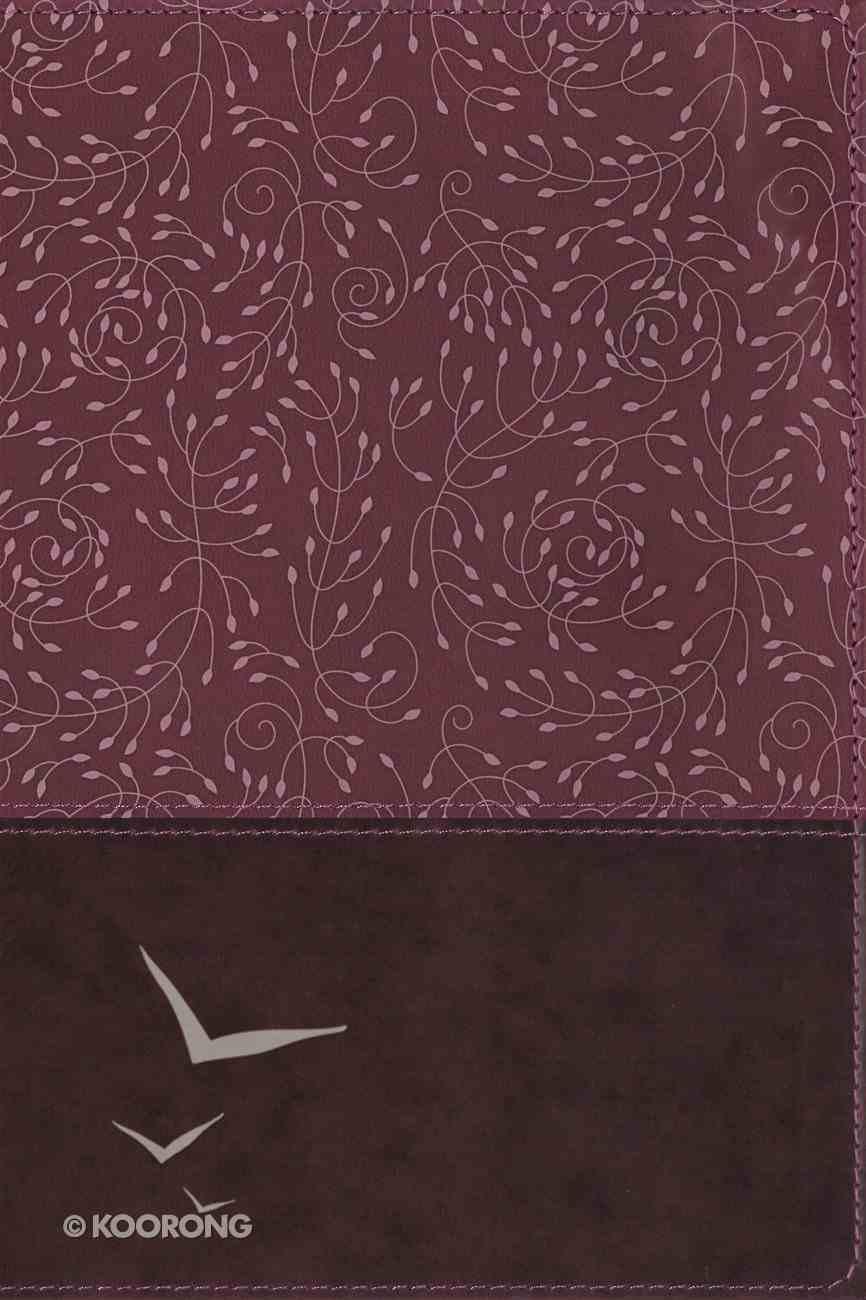NRSV Thinline Reference Bible Burgundy Indexed Premium Imitation Leather