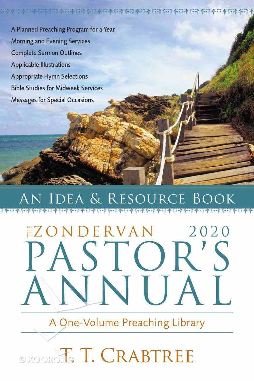 The Zondervan 2020 Pastor's Annual: An Idea and Resource Book Paperback