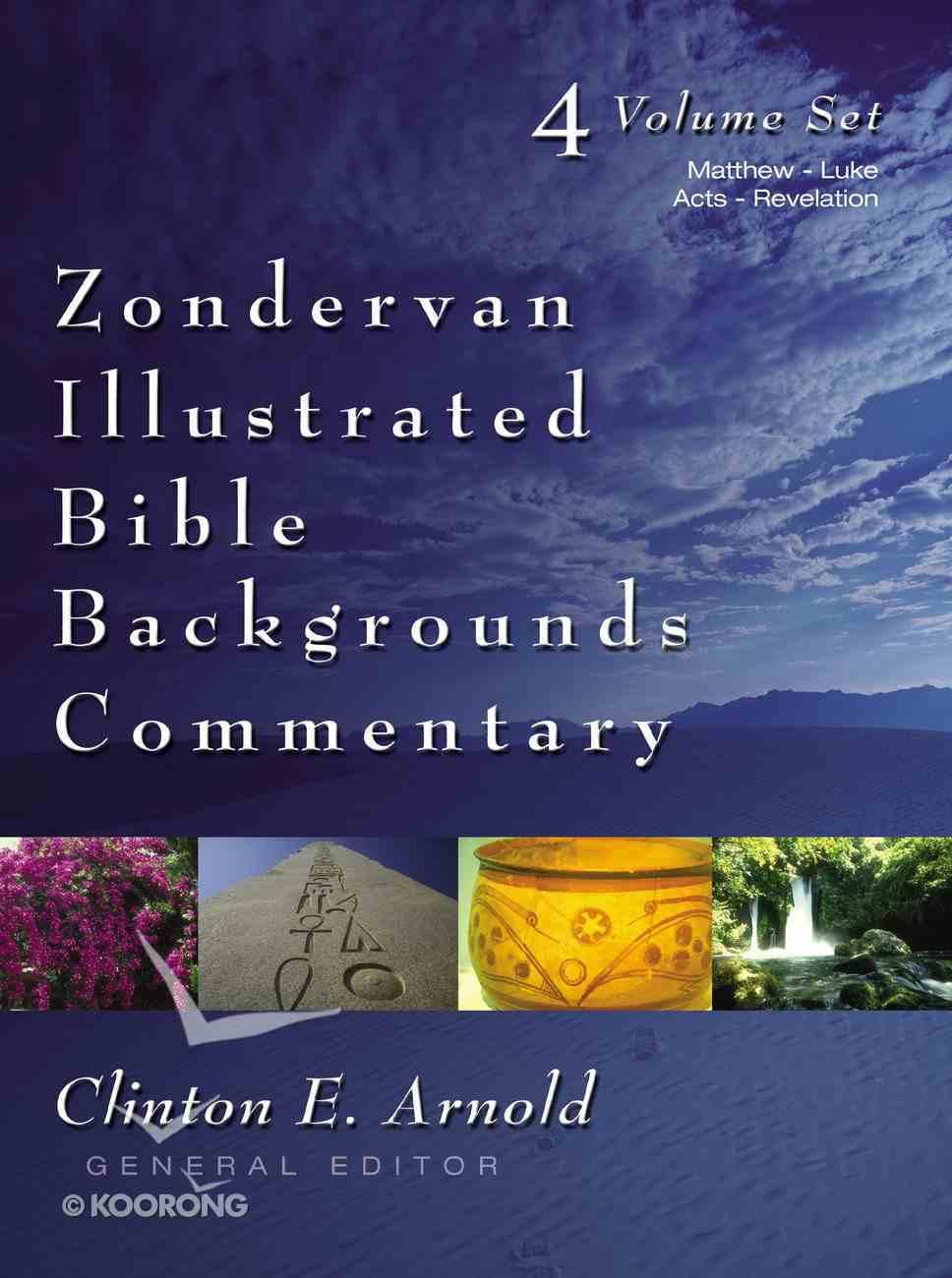 Matthew-Luke; Acts-Revelation (2 Volume Set) (Zondervan Illustrated Bible Backgrounds Commentary Series) Hardback