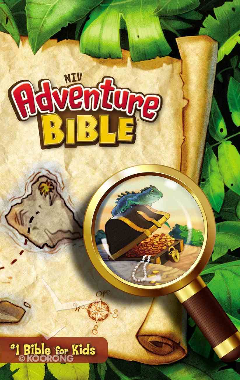NIV Adventure Bible (Black Letter Edition) Paperback