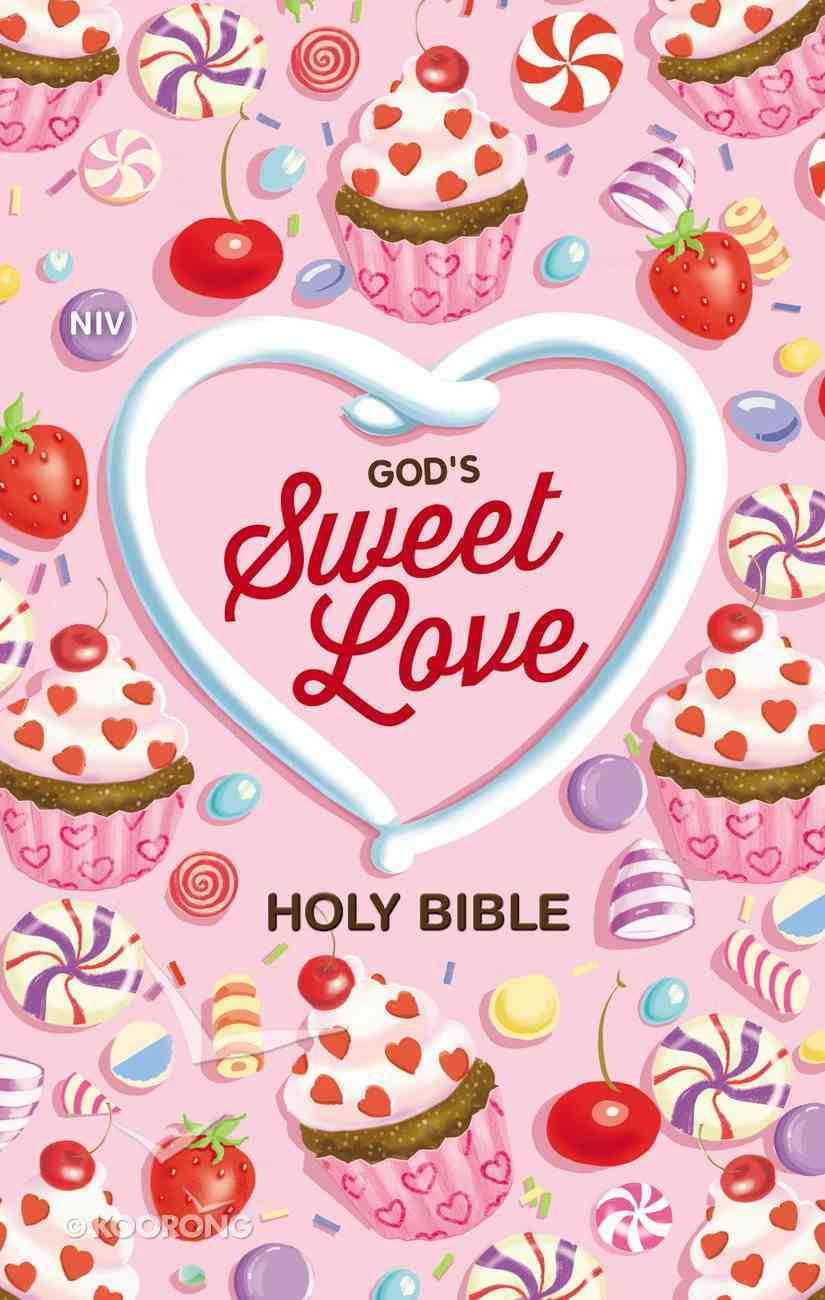 NIV God's Sweet Love Holy Bible Hardback