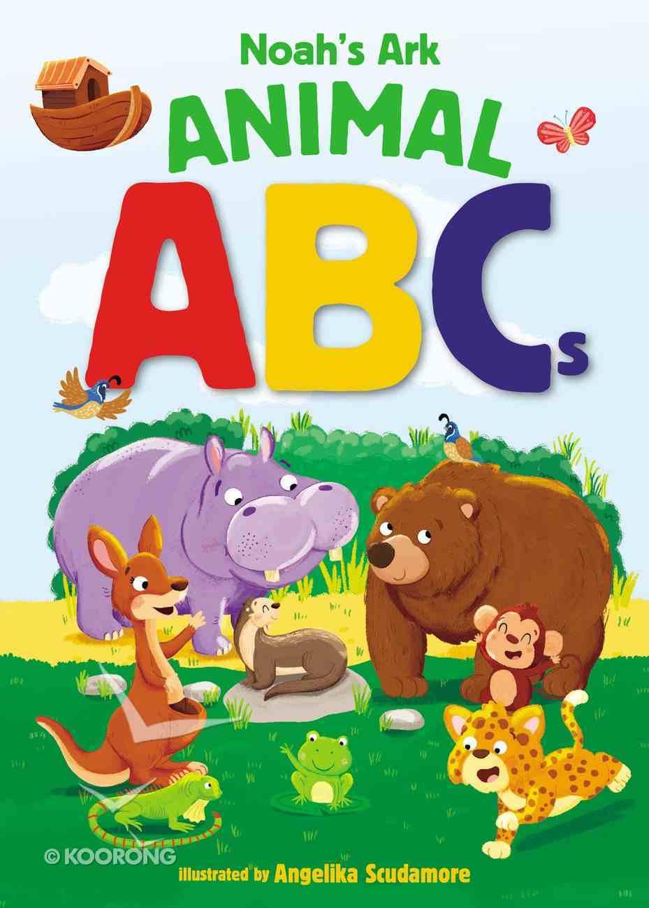 Noah's Ark Animal ABCS Board Book