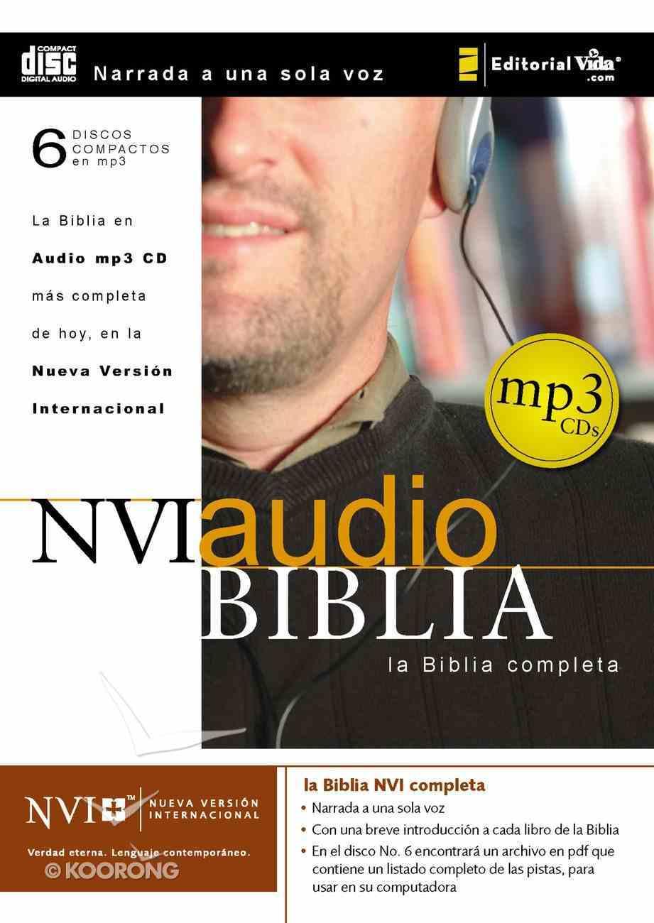 Nvi Biblia Completa Audio MP3 CD