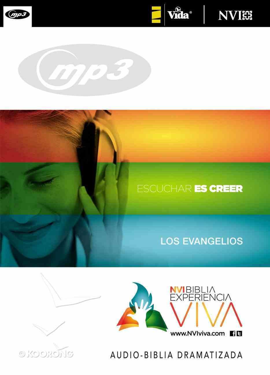 Experiencia Viva Los Evangelios (Audio Bible New Testament Mp3) CD