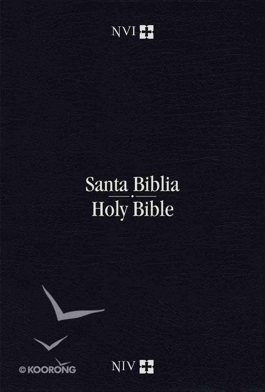 Nvi/Niv Biblia Bilingue Indice (Red Letter Edition) Imitation Leather