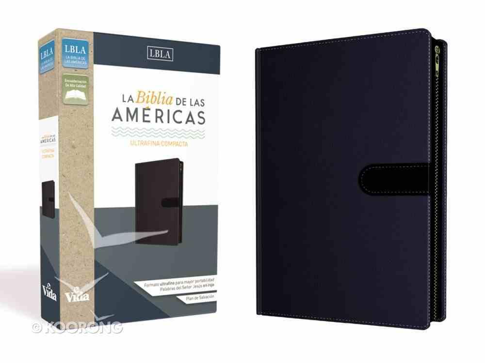 Lbla Biblia De Las Americas Ultrafina Compacta Cierre (Red Letter Edition) Imitation Leather