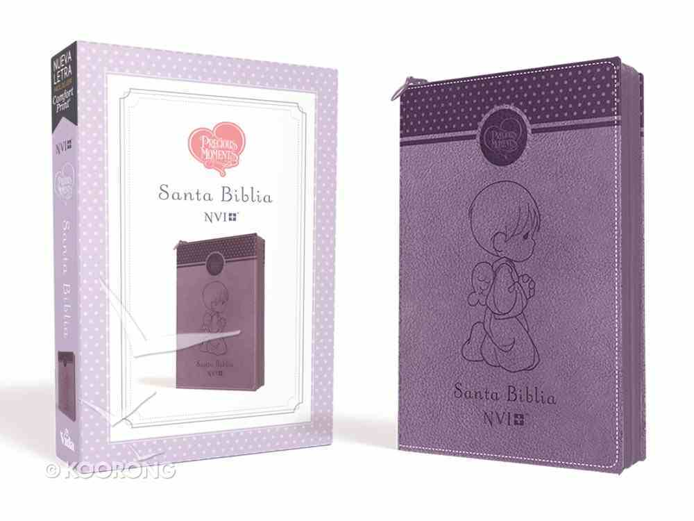 Nvi Santa Biblia Precious Moments Angelitos Ultrafina Compacta Imitation Leather