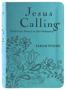 Jesus Calling Deluxe Edition Teal Cover Imitation Leather
