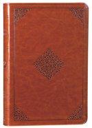 ESV Large Print Value Thinline Bible Tan Ornament (Black Letter Edition) Imitation Leather