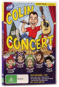 Product: Dvd Colin Concert, The Image