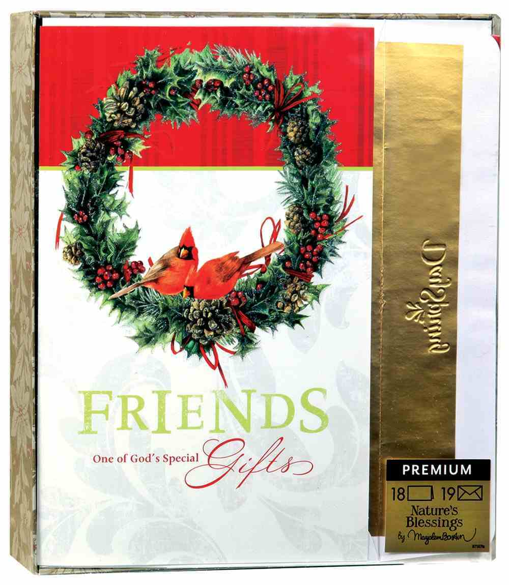 Christmas Premium Boxed Cards: Friends One of God's Special Gifts - Marjolein Bastin Box
