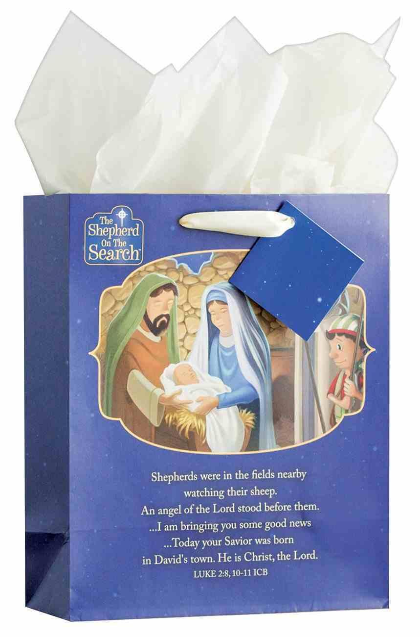 Christmas Gift Bag: Shepherd on the Search (Medium) (Shepherd On The Search Series) Stationery