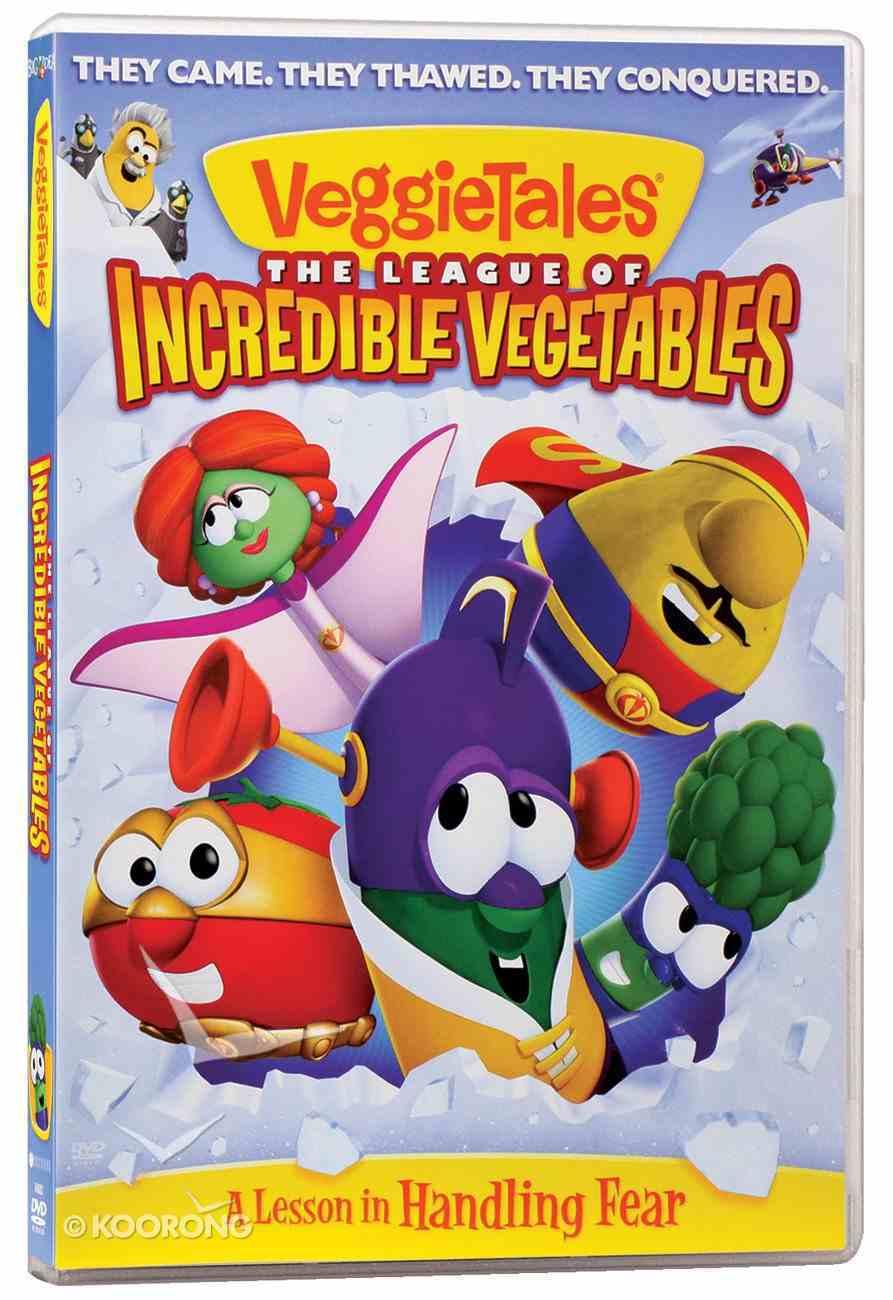 Veggie Tales #51: League of Incredible Vegetables (#051 in Veggie Tales Visual Series (Veggietales)) DVD