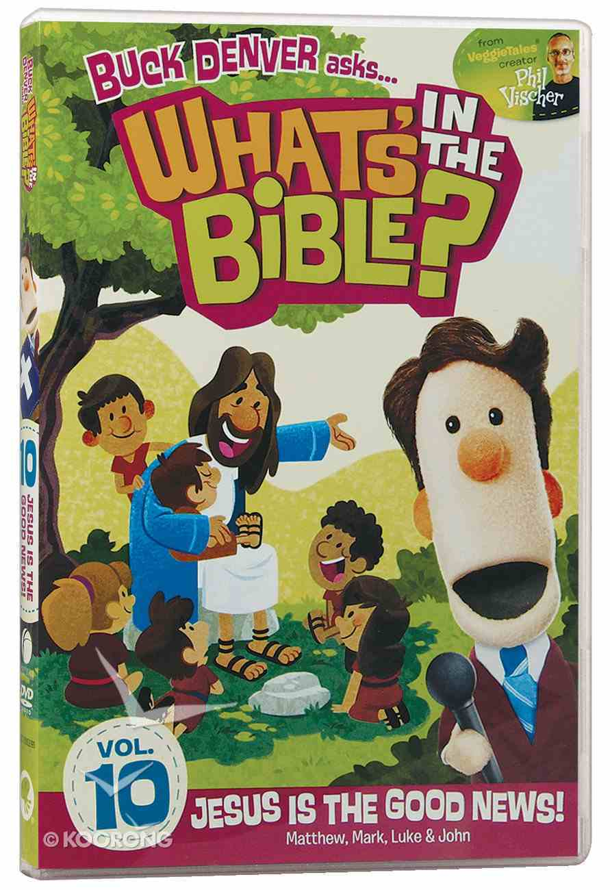 Jesus is the Good News! (#10 in What's In The Bible Series) DVD