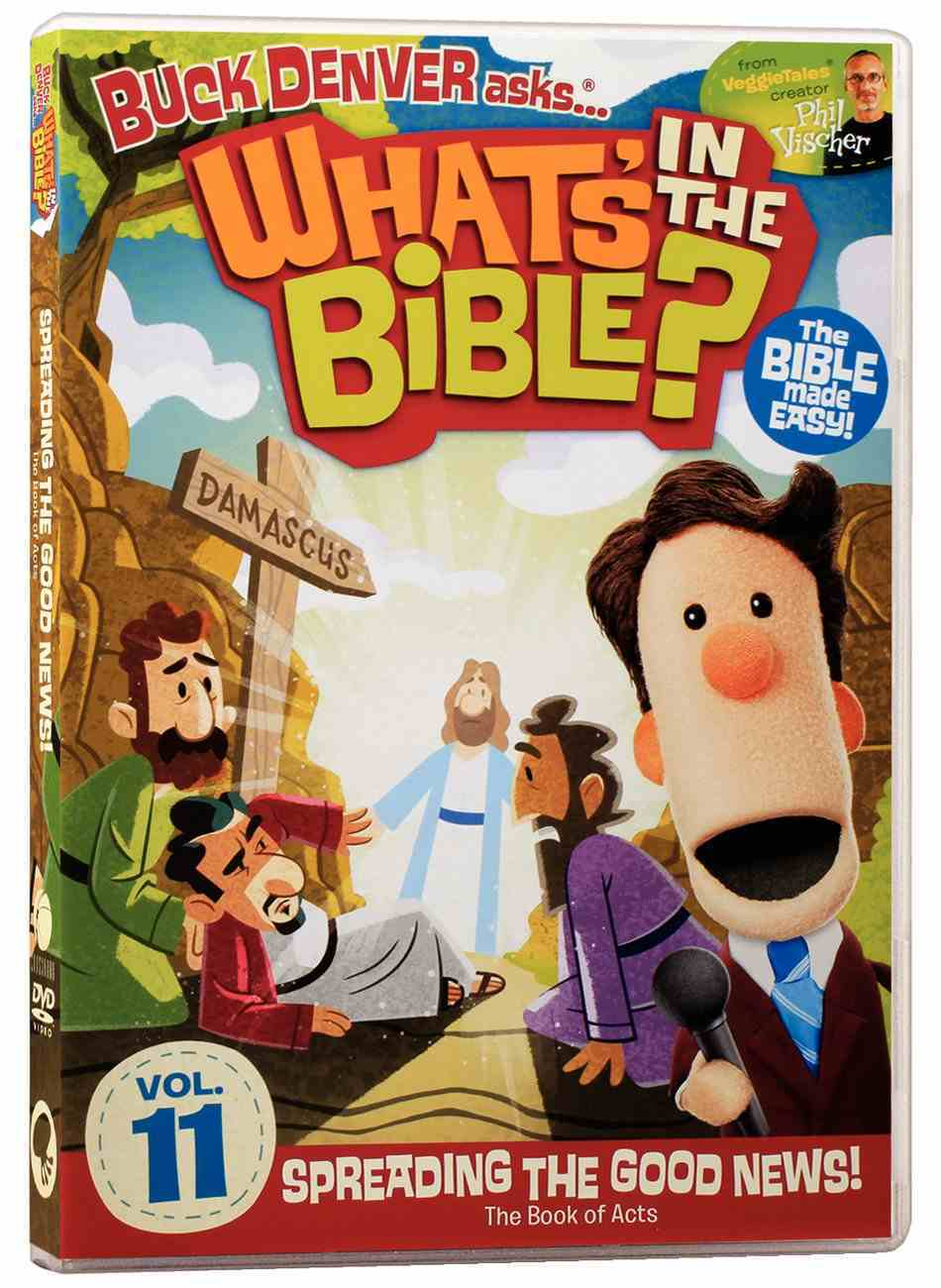 Spreading the Good News! (#11 in What's In The Bible Series) DVD