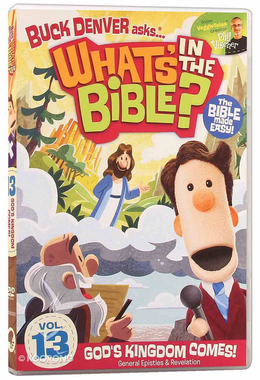 God's Kingdom Comes! (#13 in What's In The Bible Series) DVD