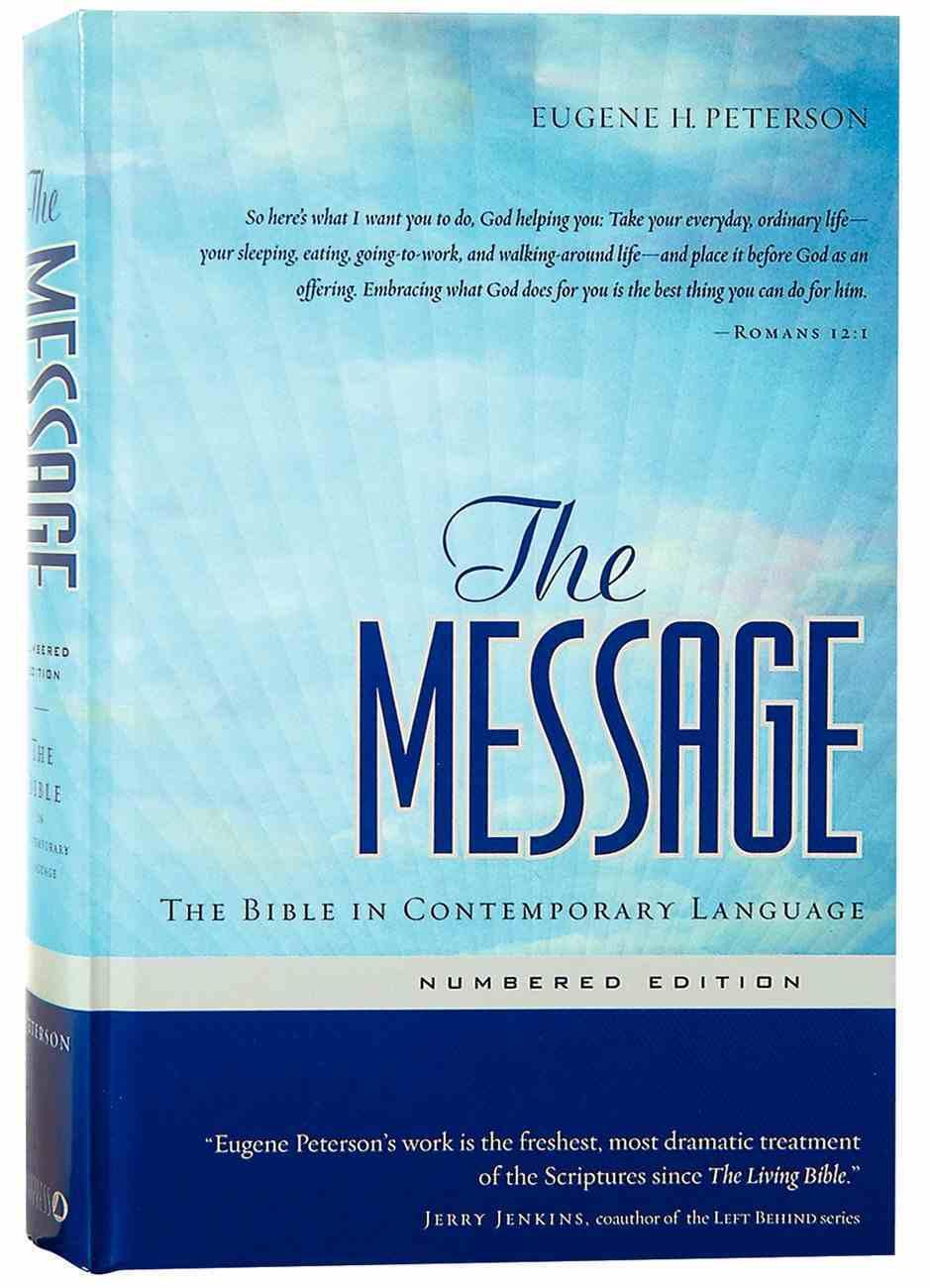 Message (Black Letter Edition) Hardback
